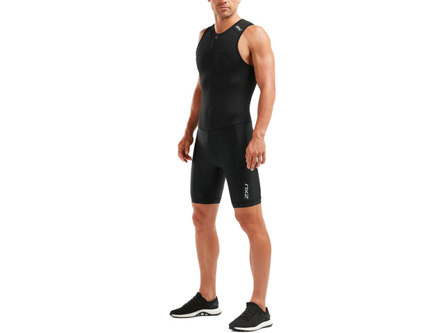 2XU Active Trisuit Heren, black/black